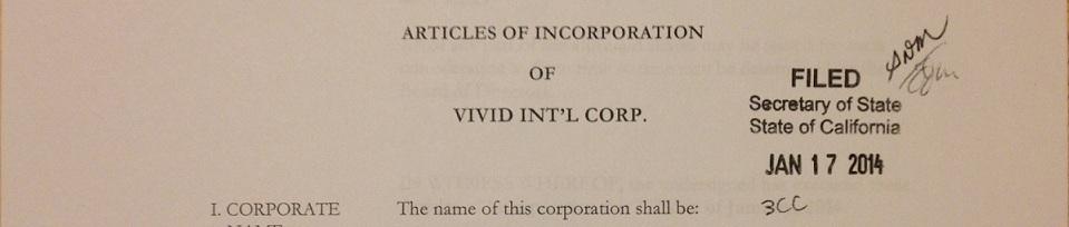 注册成立美国公司 - 新公司从州政府批准申请的那天起正式成立