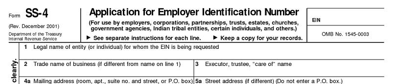 注册成立美国公司 - 申请美国公司联邦税号