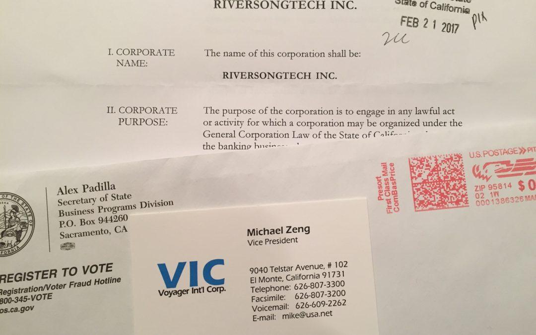 Riversongtech Inc