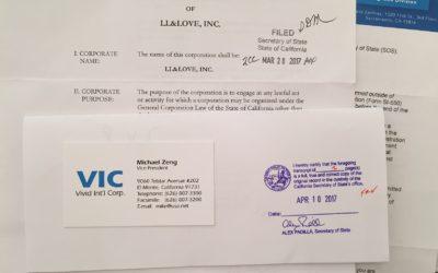 LL&Love Inc