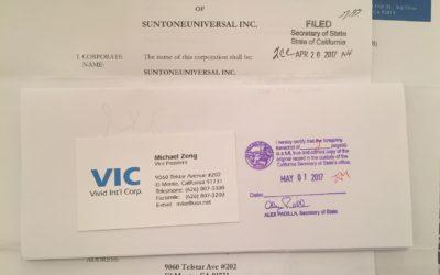 Suntoneuniversal Inc