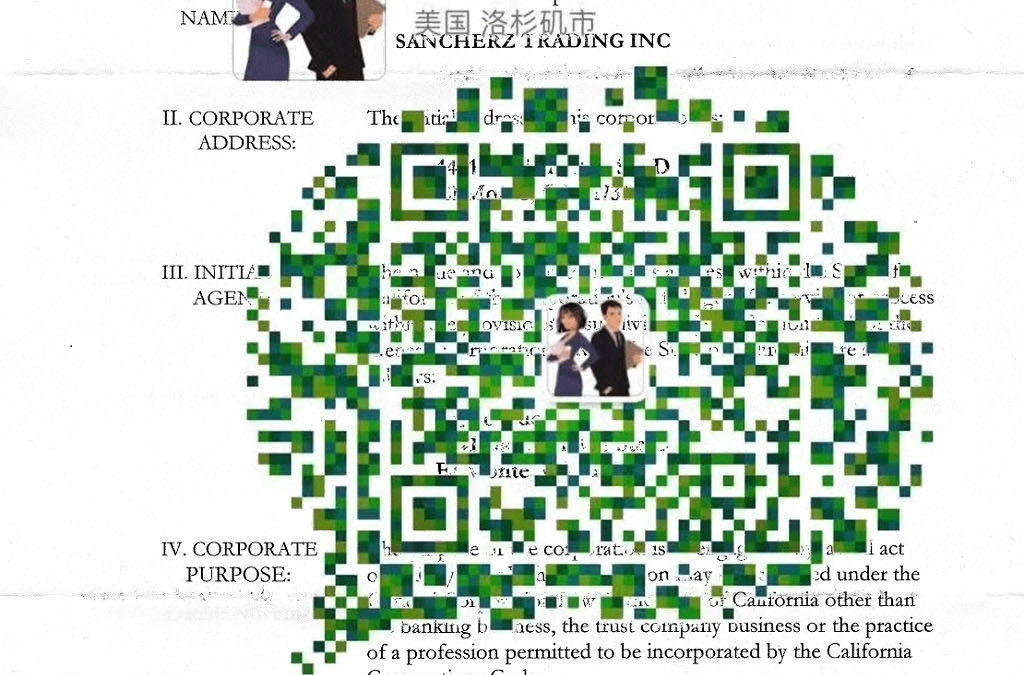 Sancherz Trading Inc