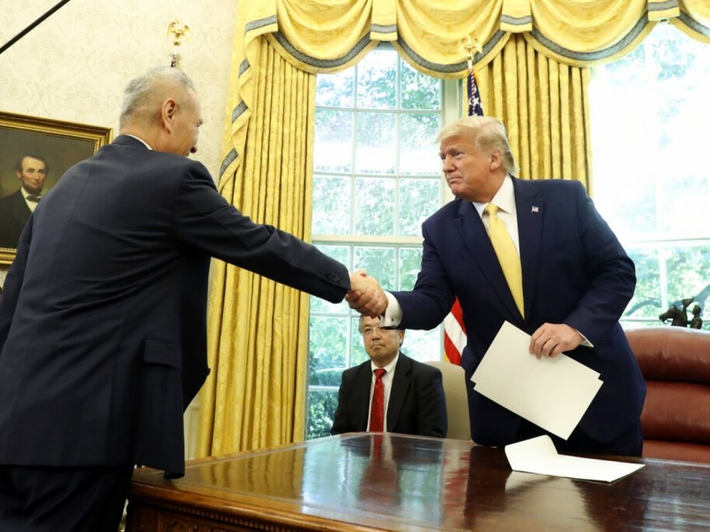 中美达成首阶段贸易协议